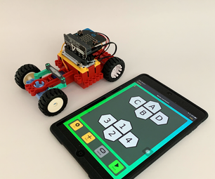 [2020] Using IPhone or IPad and Micro:bit Game Pad App to Control an RC Car