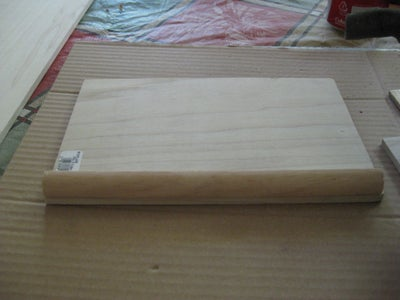 Cutting and Gluing the Wood Case