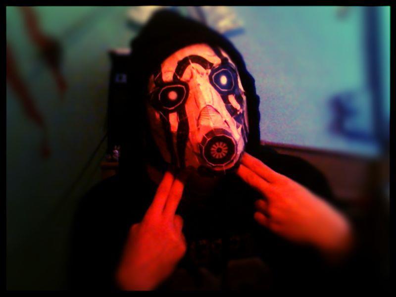 Borderlands Psycho Mask