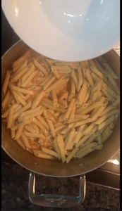 Step 16: Add 2 Cups of Penne Pasta