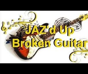 Jaz'd Up Guitar Wall Art