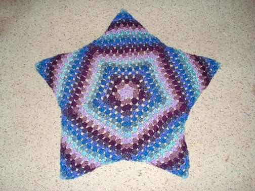 Crochet Starburst Rug