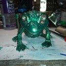 My talking frog.