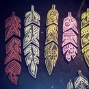 Handmade Feather for Good Luck