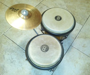 Attach a Splash Cymbal to Your Bongos