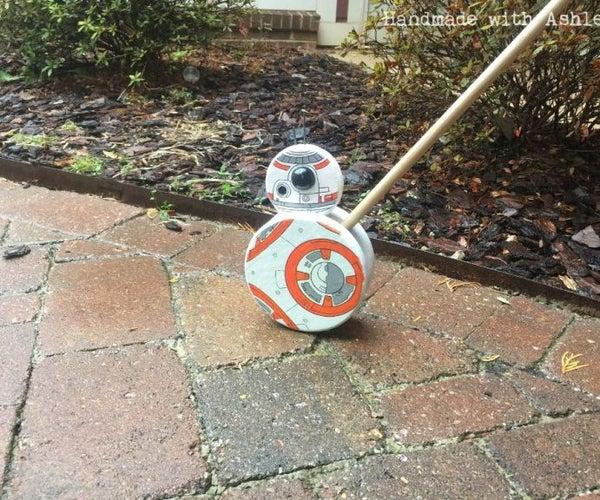 DIY BB-8 Push Toy Tutorial
