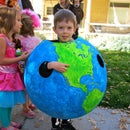 Globe Halloween Costume/Geography Lesson