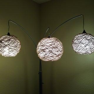 Thread Lampshade