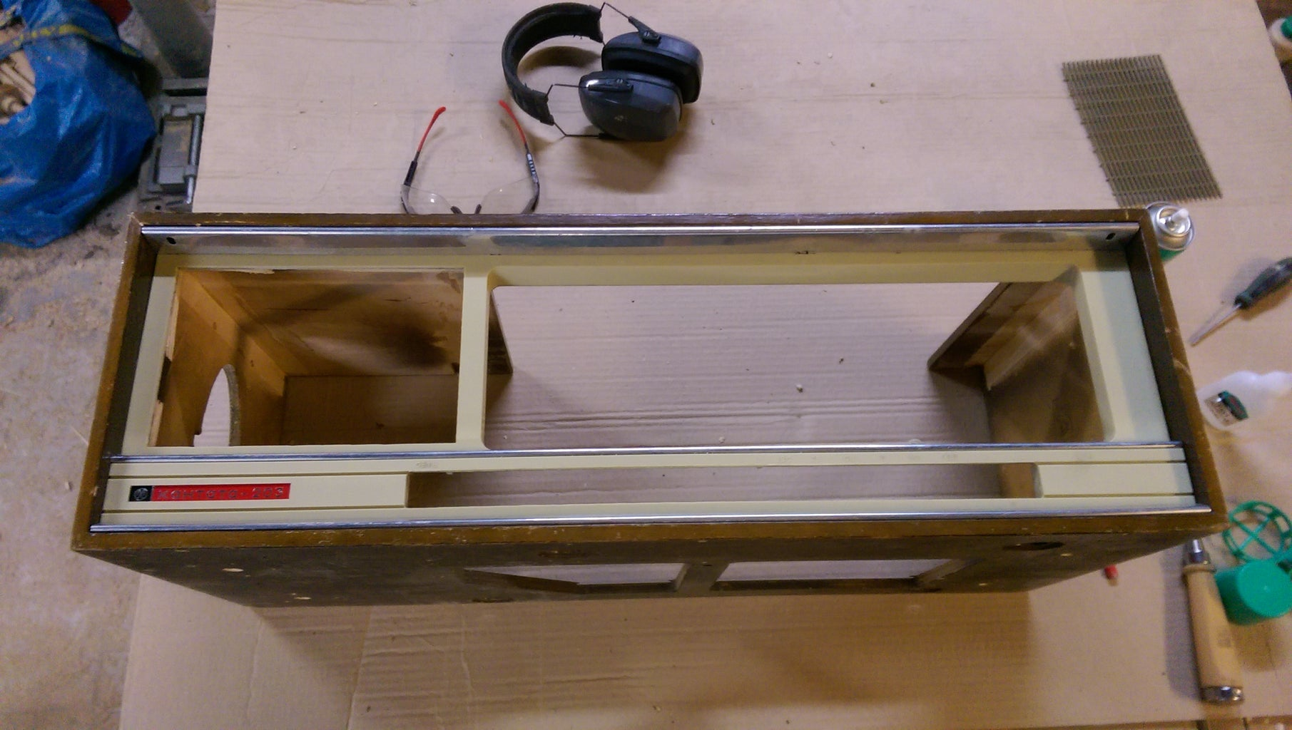 Cut Out Sections From the Front Panel