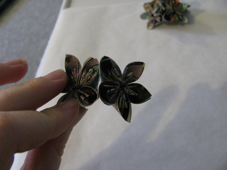 Step Three: Flower Arrangement
