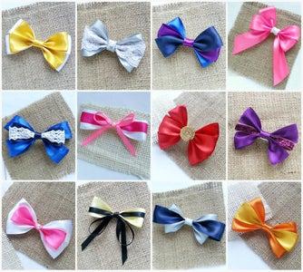 DIY Hair Bows (12 Patterns)