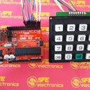Keypad Access 4x4 With Arduino