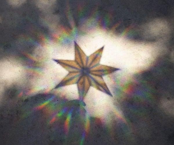 3D Printed Rainbow Suncatcher