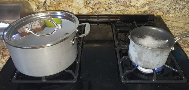 Prepare a Second Small Pot of Boiling Water