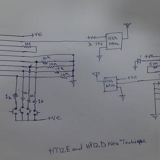 Make a RF Transmitter and Receiver With HT12E & HT12D