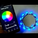 Wireless RGB Led Strip Using Bluetooth and Wifi ESP8266