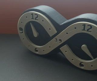 3D Printed Infinity Clock