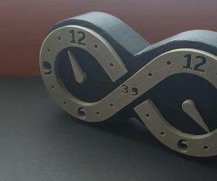 3D印刷无限钟表