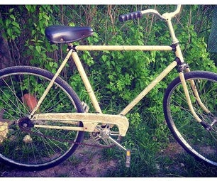 News style bicycle