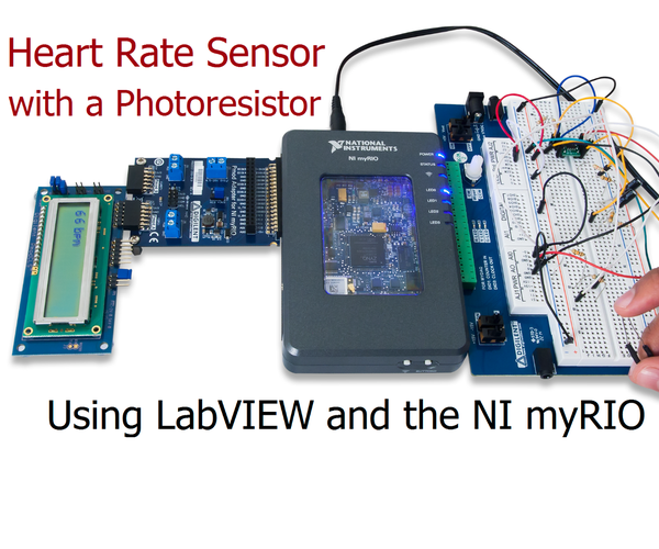 Heart Rate Monitor Using a Photoresistor
