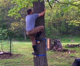 Tree Steps – a Tree Friendly Climbing Device for the Adventurous