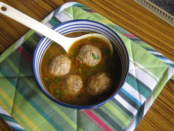 Chicken Kofta (meat Balls) Curry (gravy Version)
