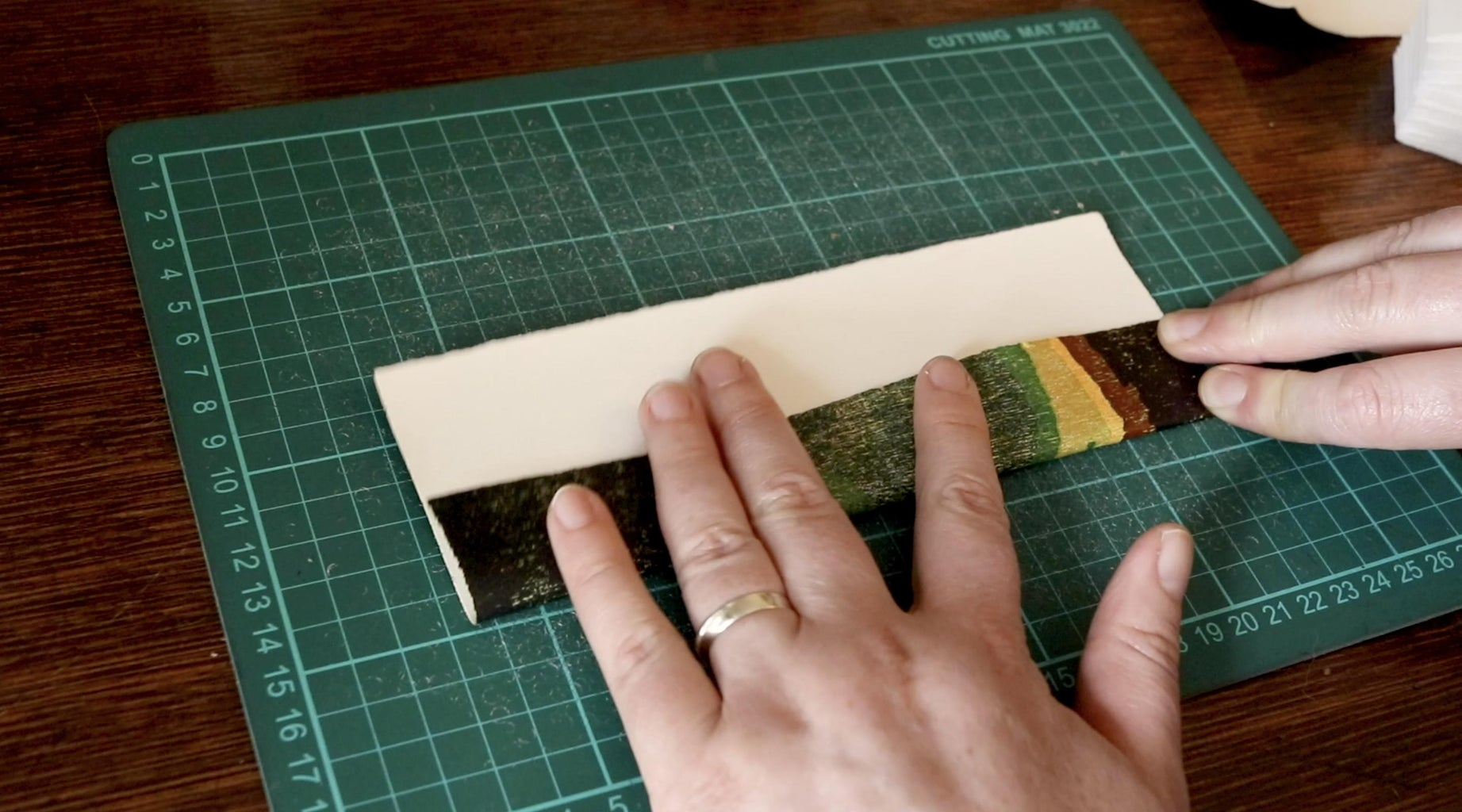 Fold in the Long Edges of Your Paper