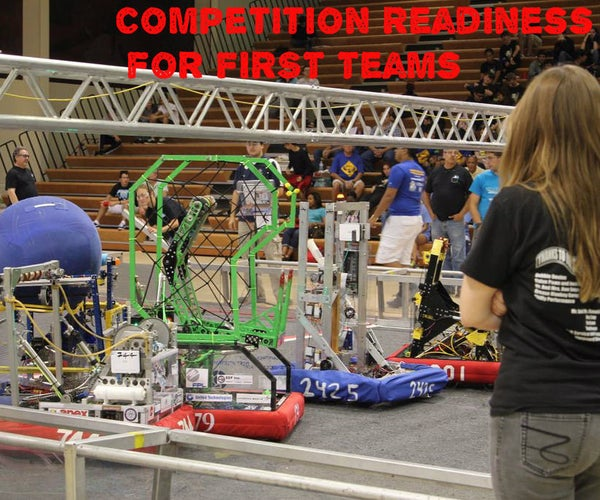 Competition Readiness for FIRST Teams