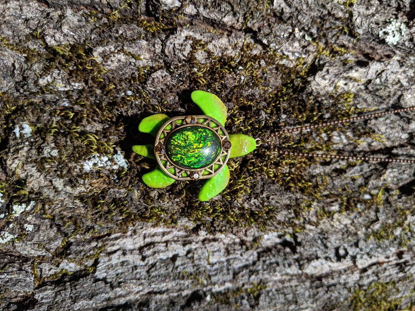 Show Off Your Homemade Made Turtle Jewelry