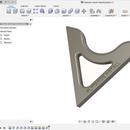 3D-design, Fusion 360 - Prosjekt #1, Bærehandtak Til Modellkano (med arbeidsteikningar)