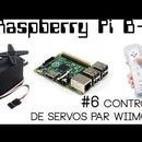 WiiMote Controlled Servos with RaspberryPi