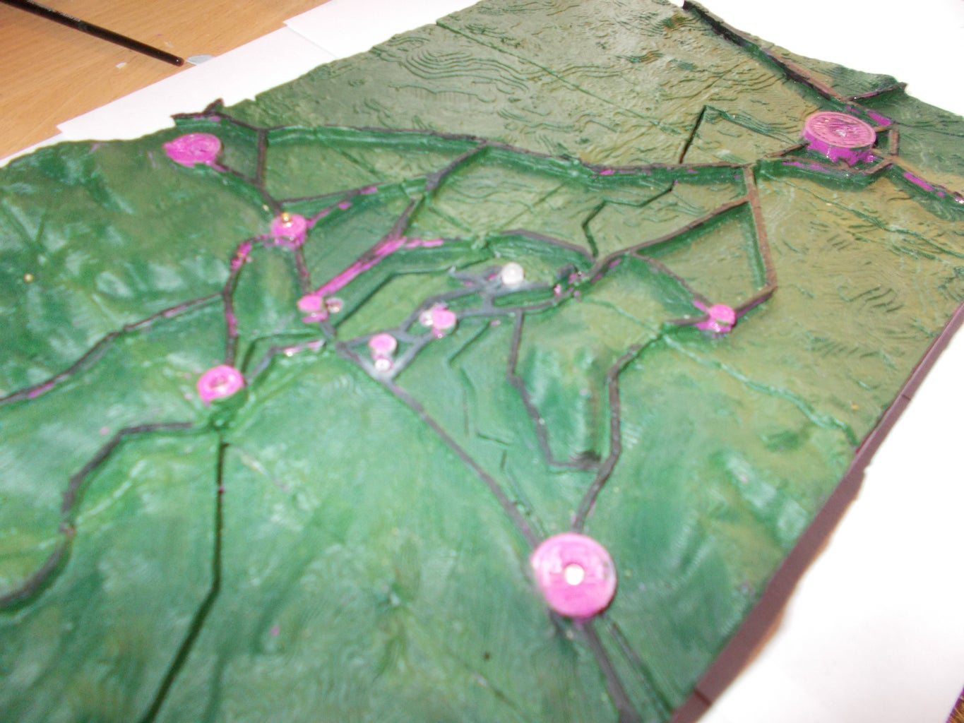 Making a 3D Printable 3D Map With Roads and Features
