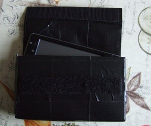 Duct/k Tape Belt Case for a Mobile Device (iPod/iPhone, Pocket PC, Etc.)