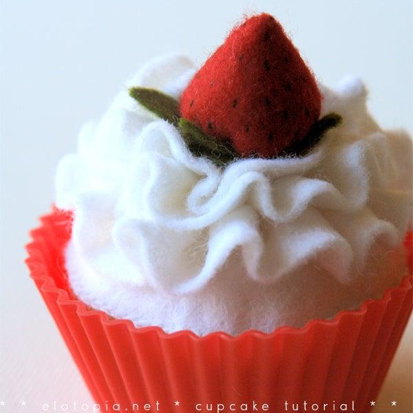 Felt Cupcake Delicious