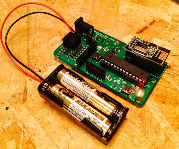 Wireless Sensor Node With the NRF24L01