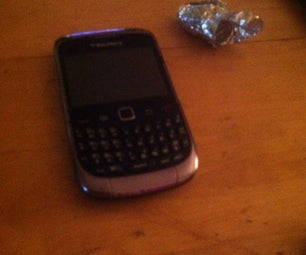 Blackberry TrackPad Fix