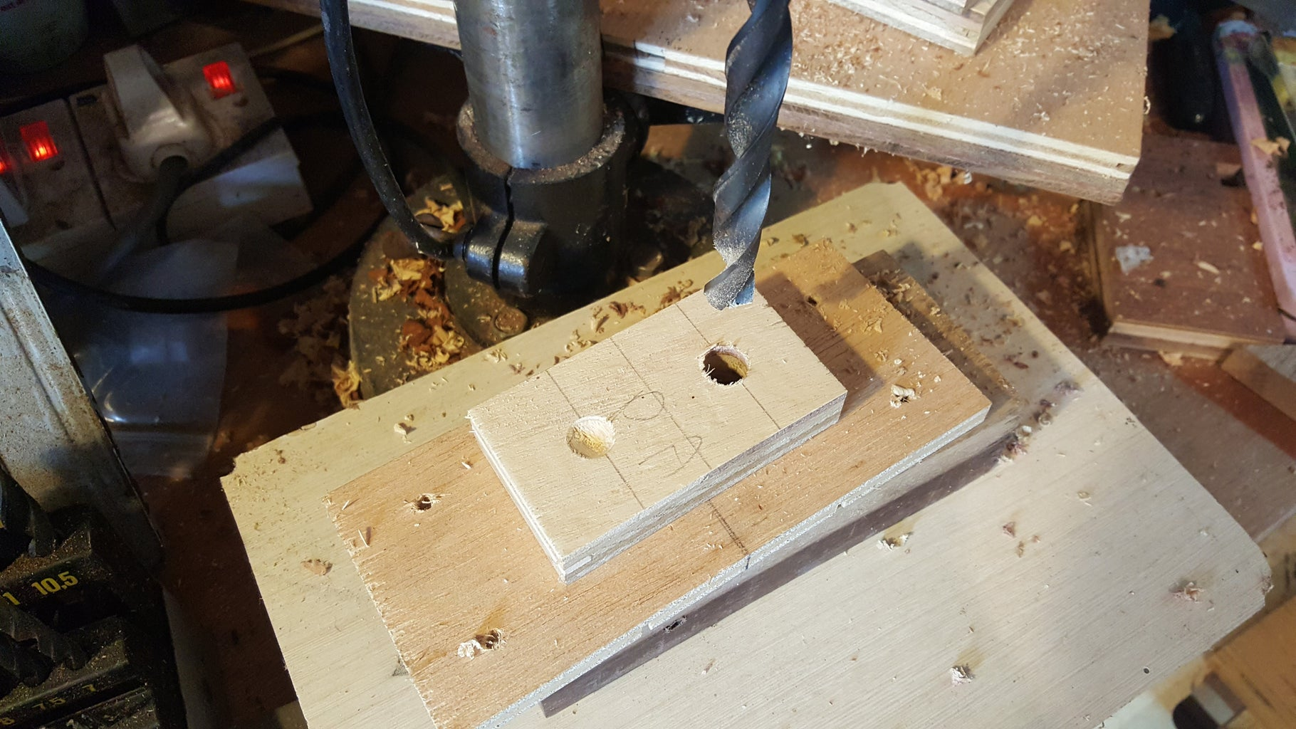 Cut the Blanks and Drill Holes