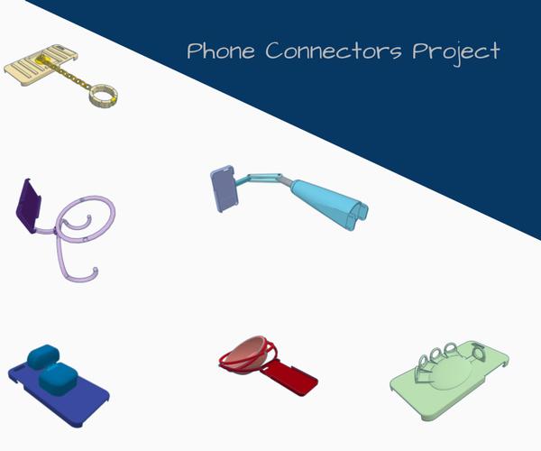 Tinkercad Phone Connectors