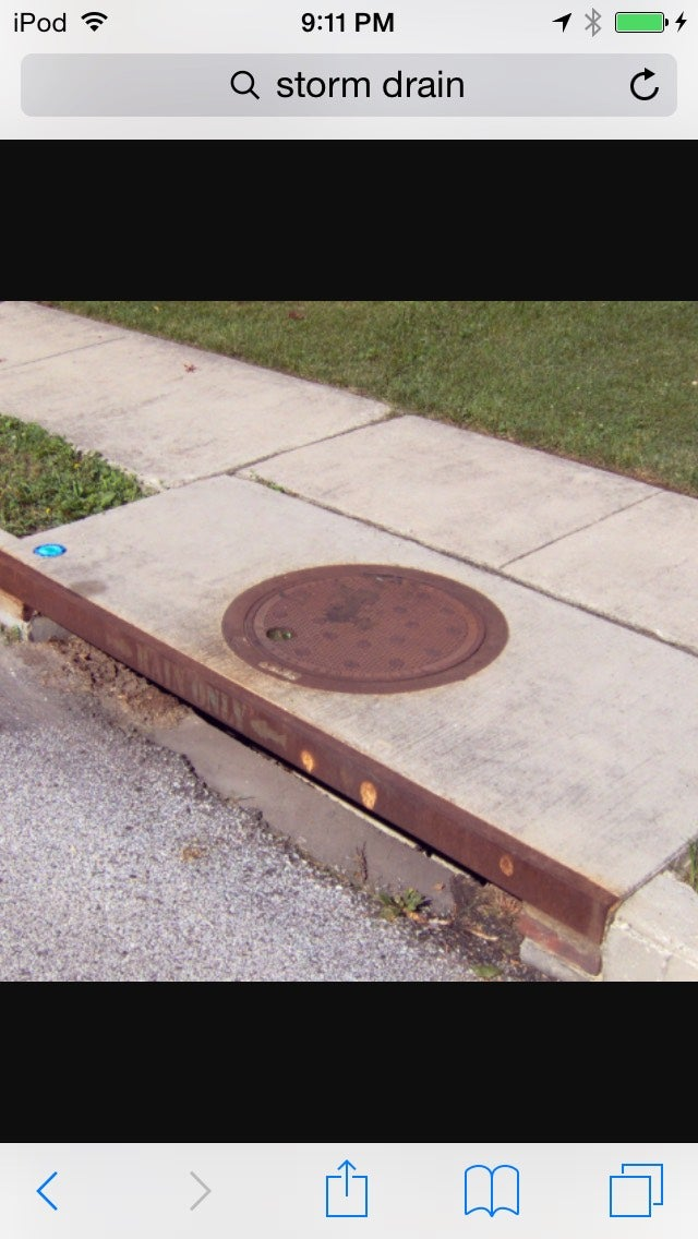 Find a Flooded Storm Drain