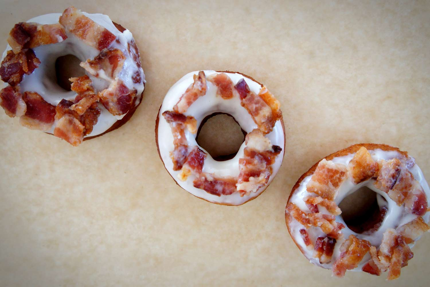 Whiskey Bacon Donuts