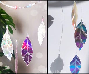 Diy Cd Recycle for Room Decor