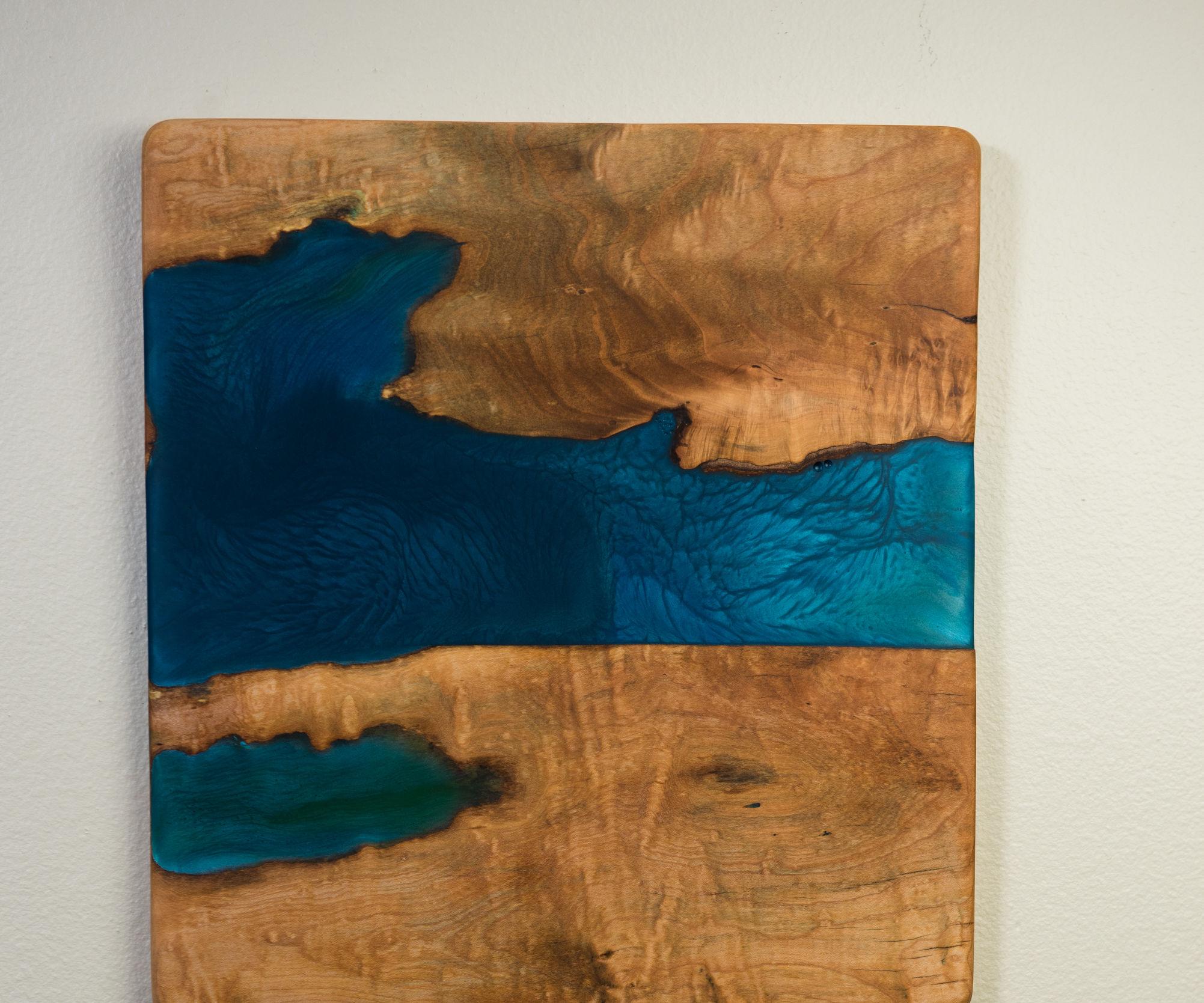 Wood and Resin Wall Art