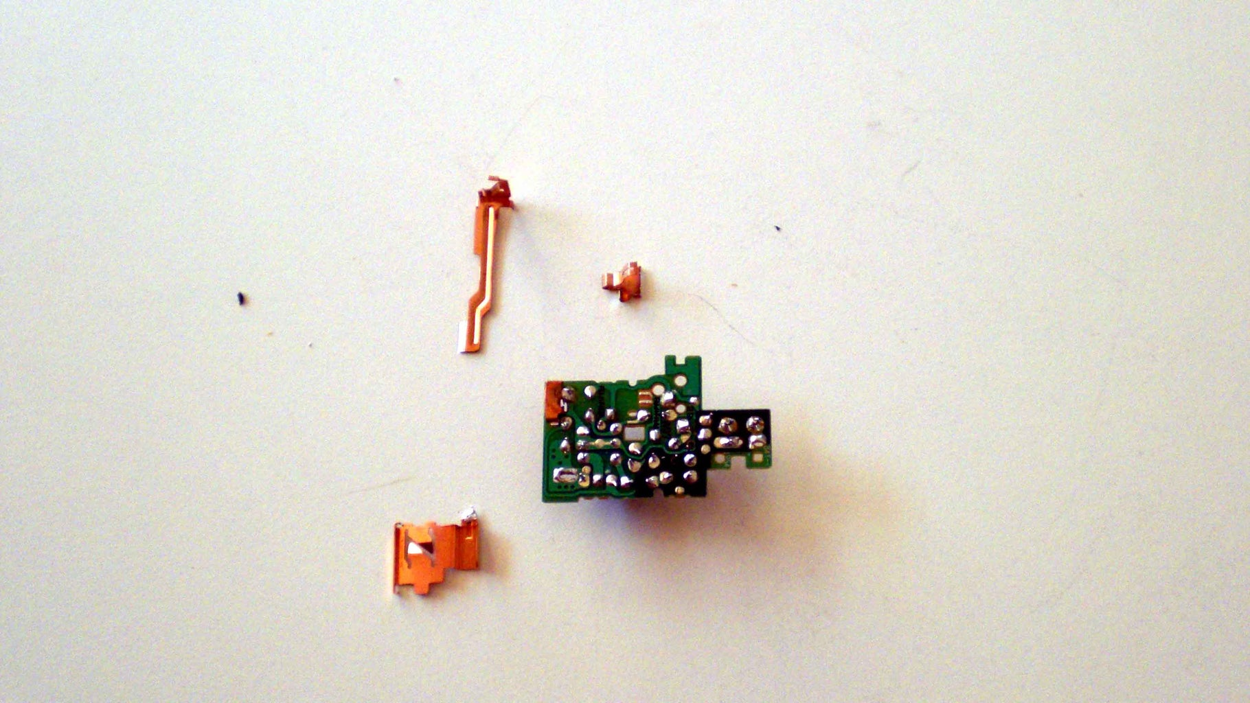 Desolder the Following Parts