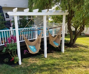 Backyard Hammock Swings - DIY Project