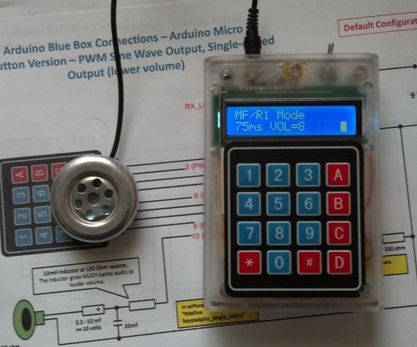 Arduino 12-mode Blue Box - Introduction