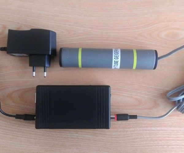 IoT - Geiger-Muller Counter on Arduino Nano Using MQTT