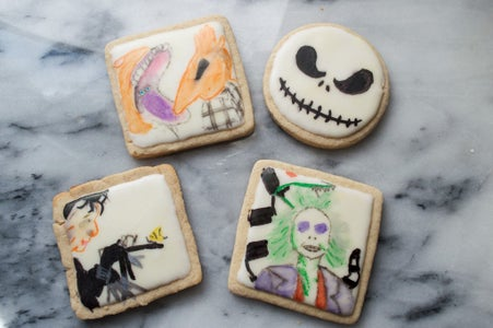 Decorating the Cookies