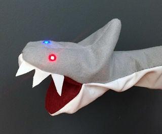Blinking Shark Puppet