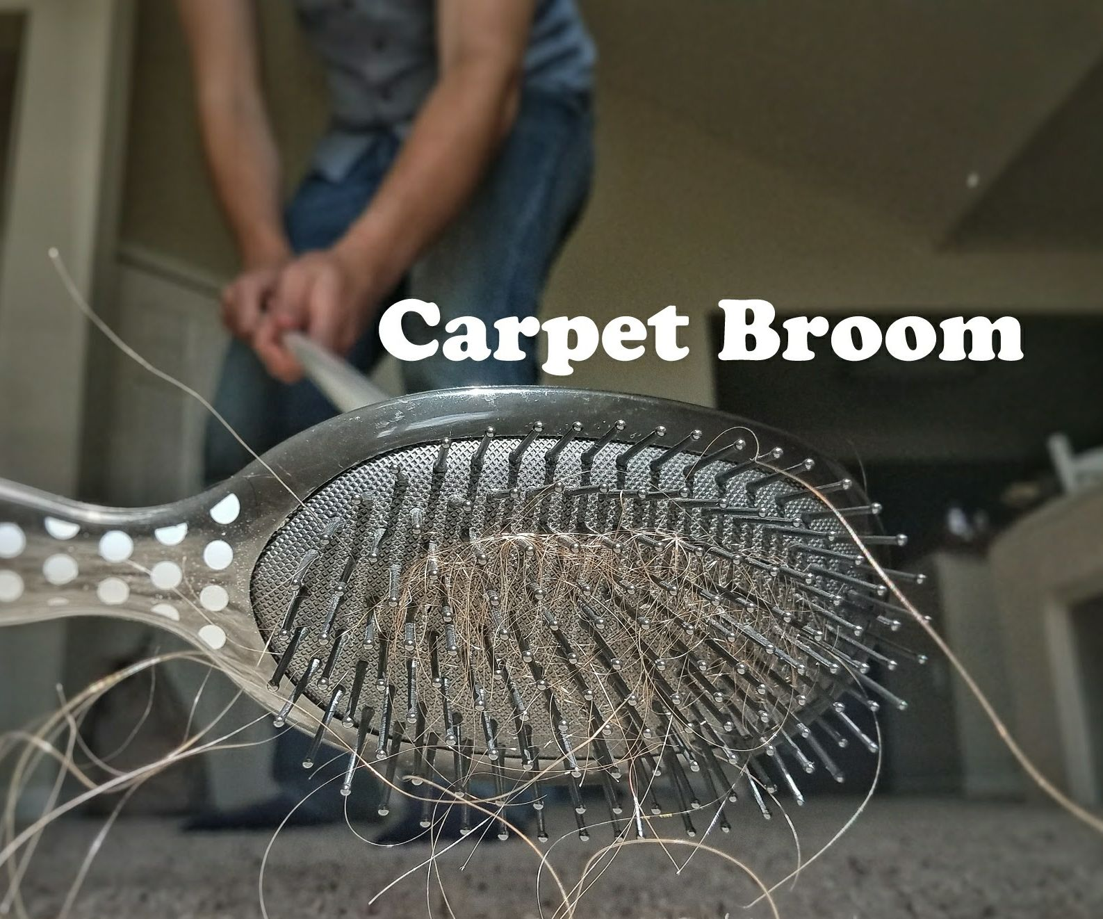 $2 Carpet Broom