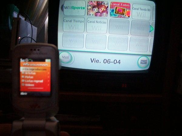 Hear Music While Play Wii, See a DVD, Etc.
